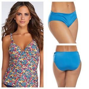 Anne Cole top and Kenneth Cole bottoms swimsuit
